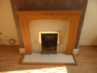 Gas Fire Place and Surround