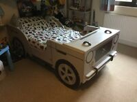 Child's Funky Jeep Bed, Frame Only, Excellent Condition, looks fab!