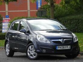 Vauxhall Corsa AUTOMATIC 1.4i 16v a/c 2008 Design..JUST SERVICED + WARRANTY