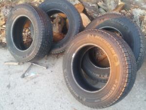Four Michelin tires 90% plus tread..215/70  RG16  great shape
