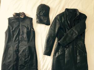 Leather Coat Edmonton Edmonton Area image 4