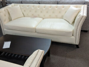 Air Leather Sofa & Love seat. Last one on Clearance SALE