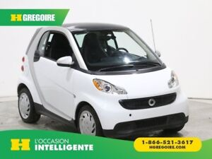 2015 Smart Fortwo Pure AUTO A/C CUIR BLUETOOTH