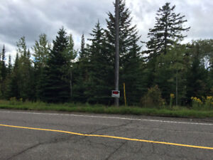 2.4 acre lot on Mountain Road!
