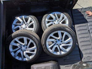 2018 Land Rover Sport rims and Pirelli tires - *** $1,800