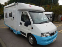 Burstner Marano T595 2 berth rear u shape lounge motorhome for sale
