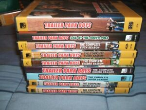 Trailer park boys seasons 1-9 and live at north pole