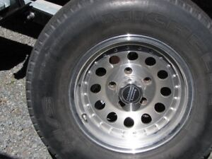 4 mags +tire michelin m/s ltx   5 bolt   p245/75 r 16,,,,,,,,,
