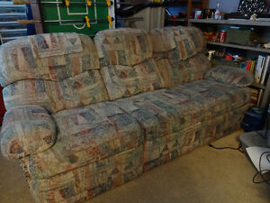 Lazyboy Couch - Double Recliner with Storage