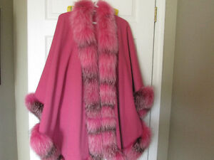 Wool/Cashmere Cape