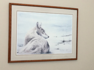 """""""Up Close"""" lithograph limited edition print by Sue Coleman"""
