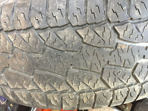 4 used tires for sale $280 obo  275/55R20