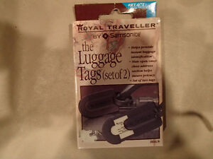 Samsonite Luggae Tags - set of 2 - NEW Sarnia Sarnia Area image 1