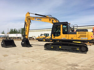 New 2015 XCMG XE210CU Excavator With Buckets & Thumb For Sale