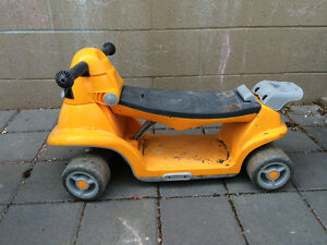 Convertible scooter ride on toy - gently used