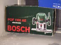 Bosch POF 1100 AE Router. Excellent condition ! Bargain