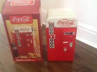 Genuine boxed coca cola cookie jar