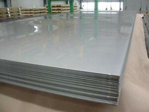 Stainless Steel Sheet Plate 2440mm x 1220mm x 1.2mm 304/2B