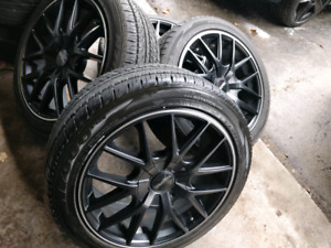 17 Inch Touren Rims with Brand new tires