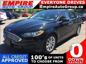2017 FORD FUSION SE * ONE OWNER * REAR CAM * SUNROOF * BLUETOOTH