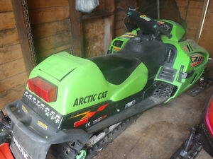 For Sale ZR Artic Cat Snowmobile Moose Jaw Regina Area image 2