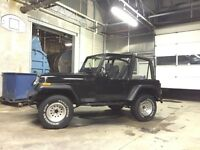 1994 Jeep YJ 2.5 4X4 GREAT ON GAS!