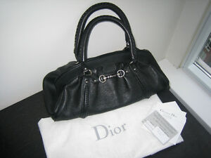 CHRISTIAN DIOR My Dior bag Cruise Black Leather limited collec.