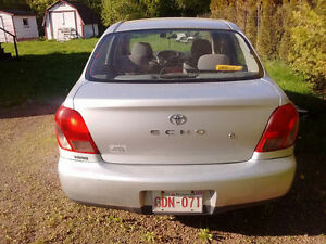 2000 Toyota Echo 4 Door Sedan