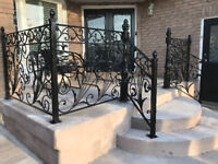 WELDING SERVICE, IRON RAILING, GATE, FENCE 647-926 2266