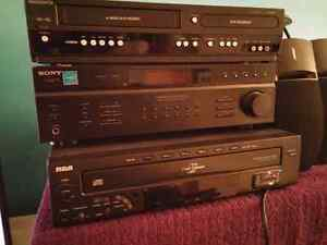 Stereo receiver plus bose speakers & more