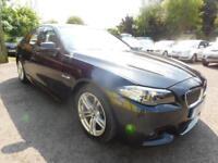 2014 BMW 5 SERIES 520D M SPORT ** HIGH SPEC ** BMW HISTORY ** SALOON DIESEL