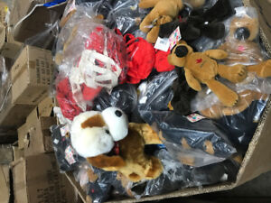 Soft Toys 0.50 cents to $1.00 each