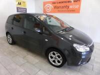 2008 Ford C-MAX 1.6 16v 100 Zetec ALLOYS, TINTS, ***BUY FOR £17 A WEEK***