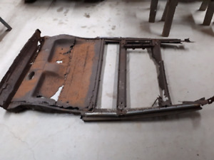1932 ford floor/subframe