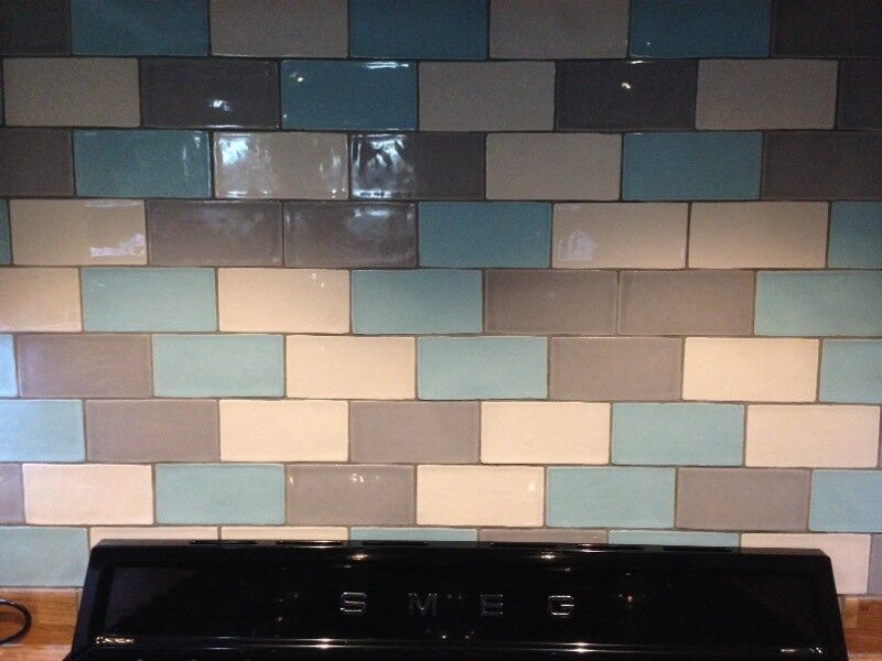 Laura Ashley Wall Tiles Duck Egg Blue