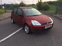 Ford Fiesta finesse, 2003, 1.4 diesel, £30 tax, long mot, £650