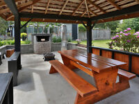 Solid Fir Picnic Table