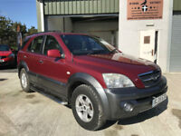 Kia Sorento 3.5 V6 with £1500 New LPG Conversion. Low Mileage