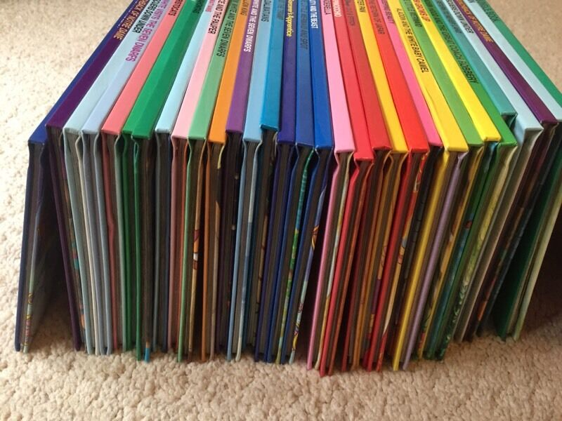 33 Disney story books, all in perfect condition most classic Disney stories covered.