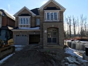 1yr old RAVINE LOT 4 bedroom detached house for rent in Brampton