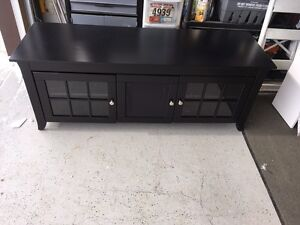 Black Newcastle TV Cabinet. $350 New. Great condition.