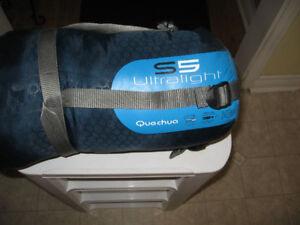 S5 Ultra Light Quechua Sleeping Bag  Size L