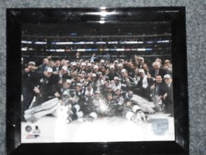L A KINGS 2014 STANLEY CUP CHAMPIONS TEAM PHOTO FRAME