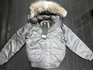 SMALL LADIES CANADA GOOSE OVO OCTOBER'S VERY OWN 2017 STEEL GREY