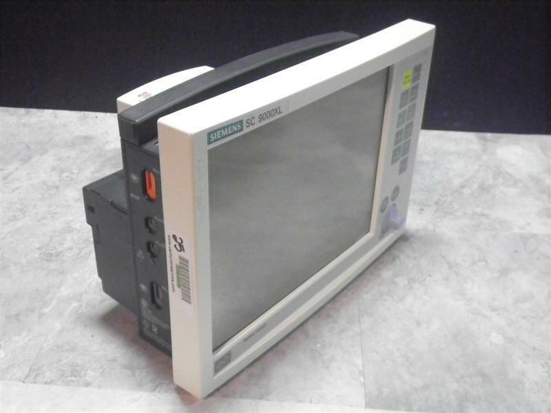 Siemens Color Patient Monitor  SC9000XL drager  SC 9000