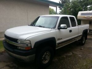 2002 Chevy Silverado 2500 HD Duramax diesel truck for sale