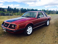 Very rare 1983 Mustang Coupe 5 L