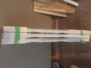 """38 - 40"""" Baulisters for Sale - Painted white, solid Pine"""