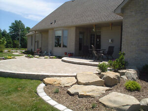 PAVING STONE, PATIOS, STONEWORK, BUILT-IN BBQS, HOT TUB AREAS London Ontario image 7