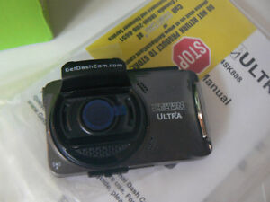 """Ultra Full HD 1080p Dashcam with 2.4"""" LCD Screen & 8GB SD (4SK88"""